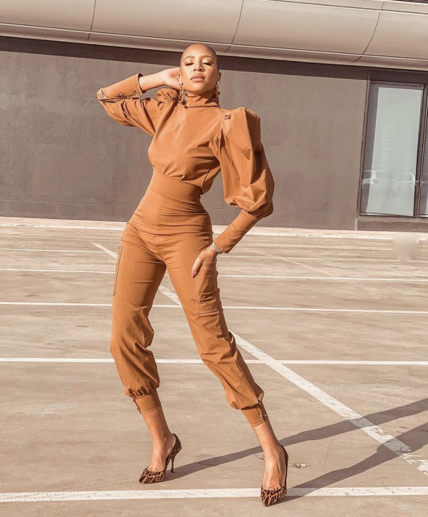 jumpsuit with puff sleeves stylerave