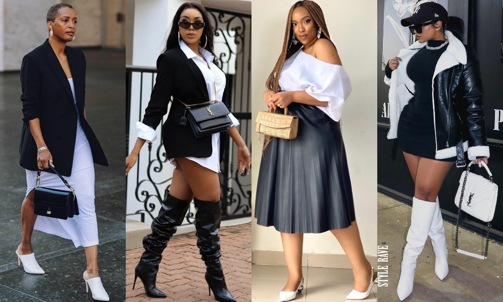 four-beautiful-women-show-how-to-style-black-white-best-ways