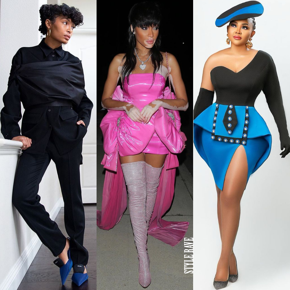 three black celebrity women show off the best style and star fashion looks in dresses