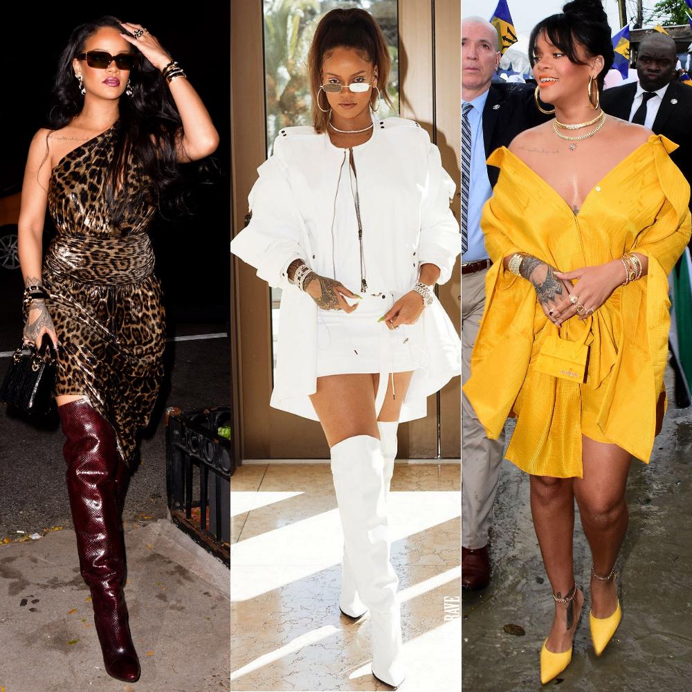 Rihanna Riri birthday style