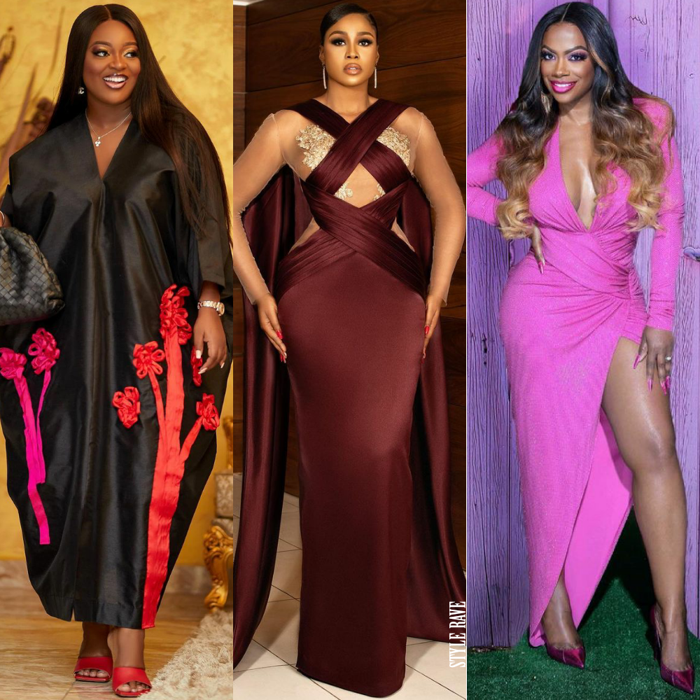 elegantly dressed black female celebrity stars around the world