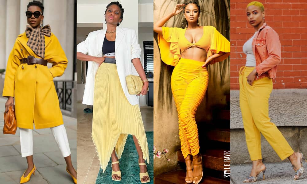 Ways To Style Yellow Outfits Like A Style Star