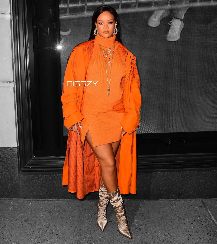 Rihanna birthday style