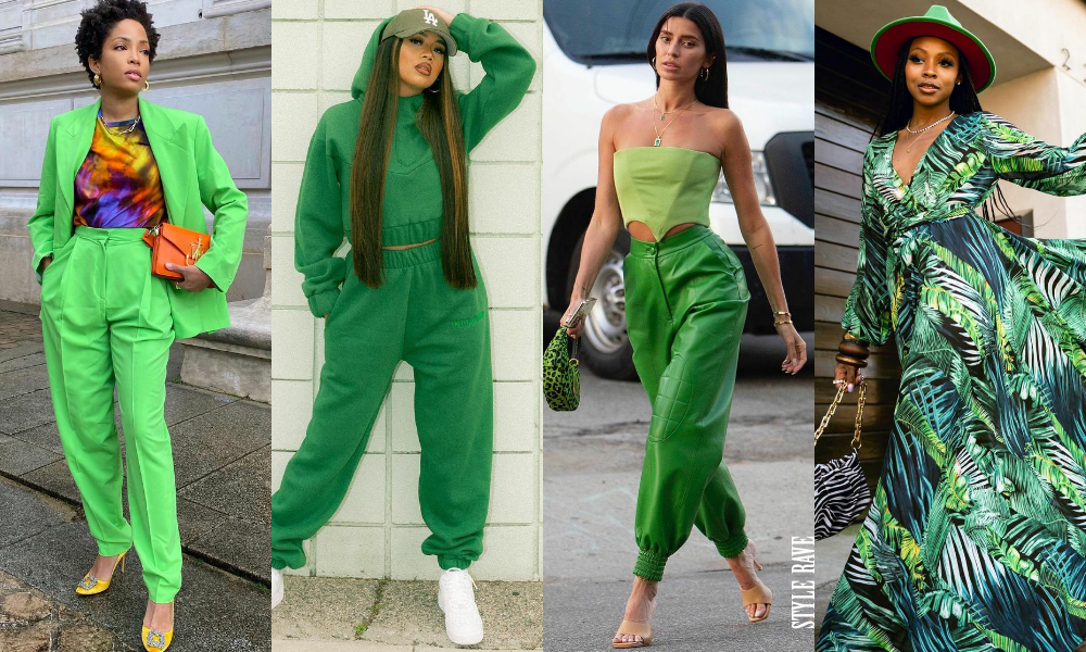 How to style green outfits