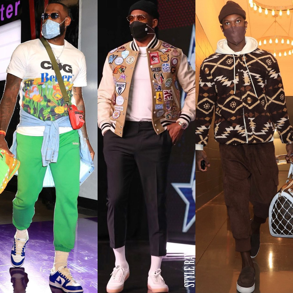 black stars celebrity male fashion style spring 2021