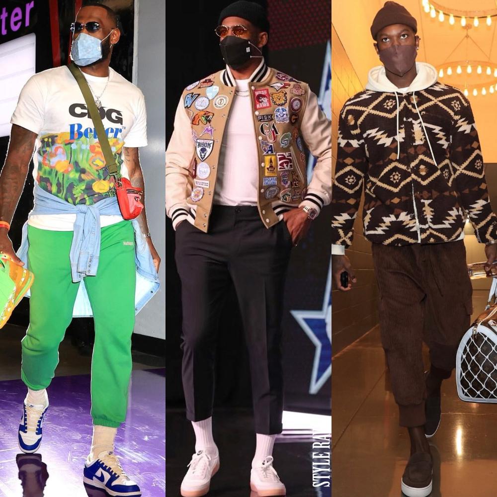 black stars celebrity male fashion style spring 2021