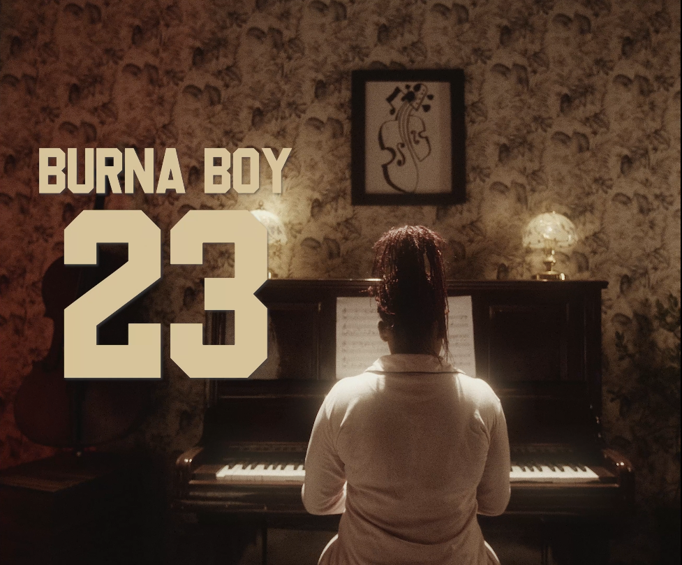 burna boy 23 video song cover