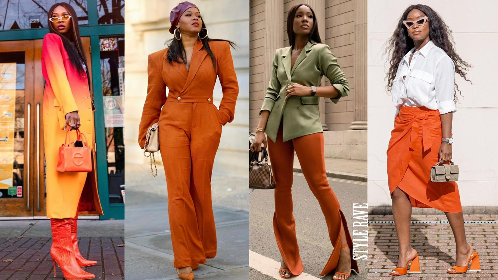 How-to-style-orange-outfits-fall-spring-summer-winter