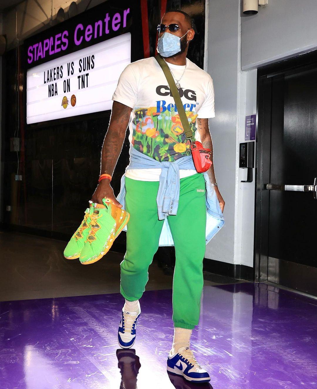 LeBron James fashion style outfit 2021