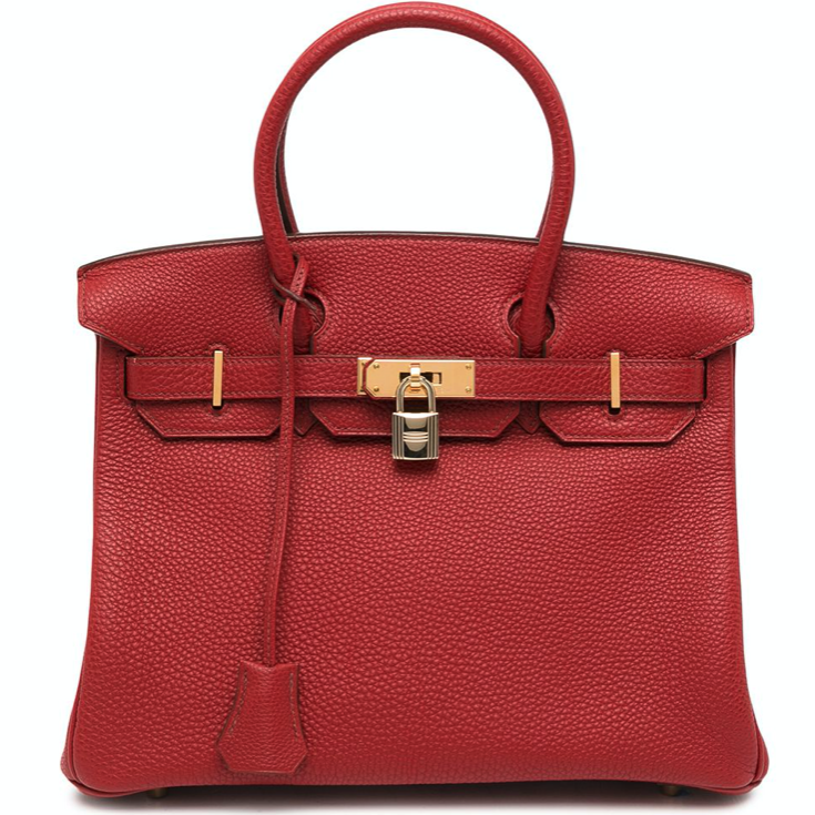 bag showing why Hermes Birkin are so expensive in value