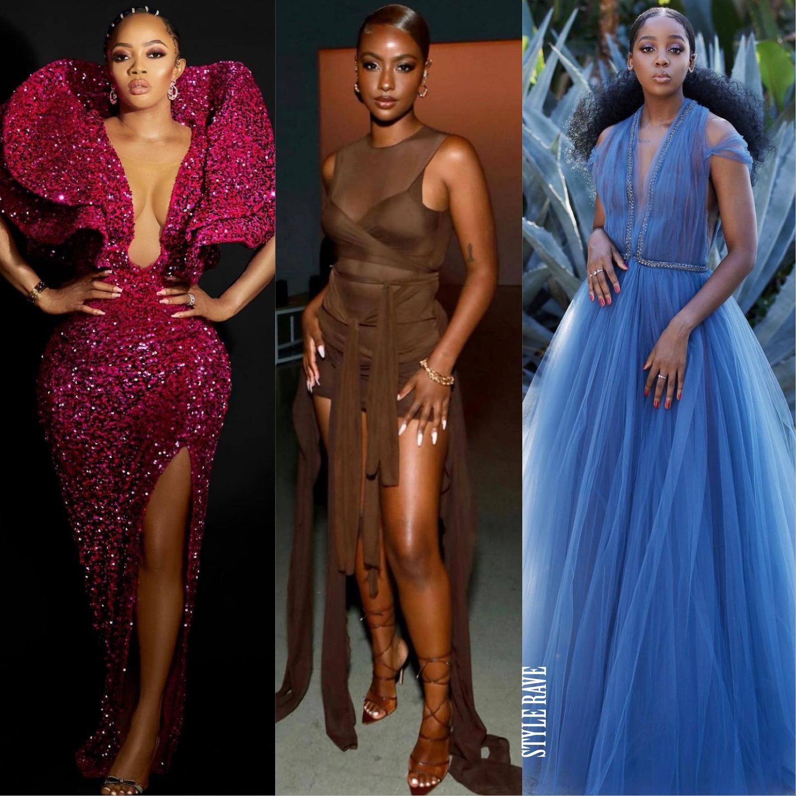 beautiful-black-women-pose-in-ball-dresses